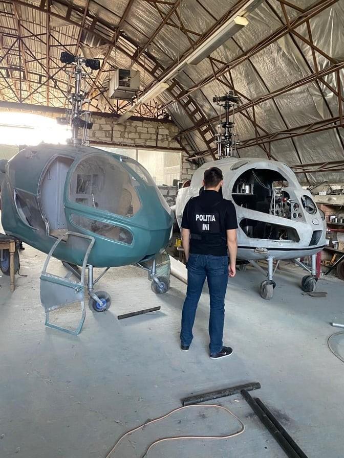 PCCOCS vine cu noi detalii în cazul mini fabricii de elicoptere la Criuleni