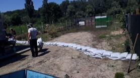 IGSU au continuat acțiunile de prevenire a inundațiilor în lunca râurilor Prut și Nistru