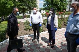 Ion Chicu s-a întîlnit cu autoritățile raionului Telenești