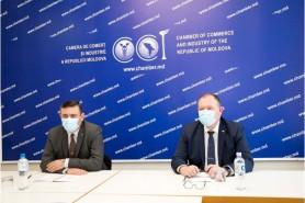 Premierul interimar a discutat cu mediul de afaceri privind activitatea în perioada stării de urgență