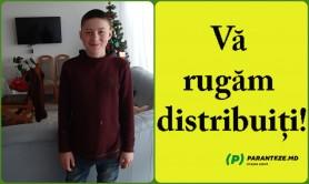 FOTO // Un minor de 15 ani din Orhei a dispărut fără de urmă. Poliția solicită ajutorul cetățenilor