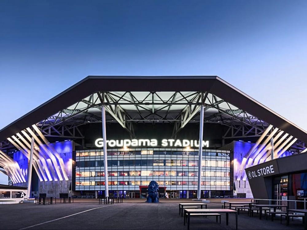 Stadionul echipei Olympique Lyon, transformat în centru de vaccinare