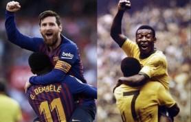 Messi a egalat un record al lui Pele