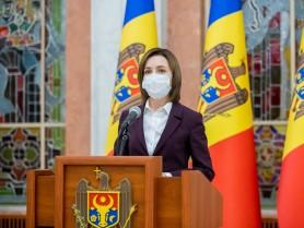 LIVE // Declarații de presă susținute de Maia Sandu, după consultările cu fracțiunile și grupurile politice parlamentare