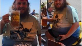 Medicii i-au mai dat 10 ani de viață, el a renunțat la cele 12 halbe de bere pe zi și a slăbit 50 kg. Cum arată acum