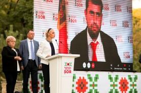 FOTO // VIDEO: Partidul Politic ȘOR a prezentat raportul intermediar al activităților din ultimul an