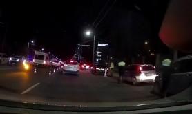 COVID-ul nu-i o glumă. Filtru din zeci de echipaje de poliție pe Viaduct au verificat respectarea restricțiiei de circulație impusă după 23:00