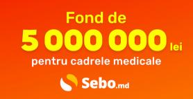 SEBO: Fond de 5 000 000 lei pentru cadrele medicale