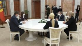 LIVE // Consultările Președintelui Republicii Moldova, Maia Sandu, cu Fracțiunea Partidului ȘOR