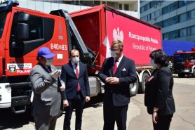 (FOTO) Polonia a oferit un nou lot de ajutor umanitar Republicii Moldova