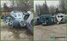 """""""Dezvoltarea și inovațiile nu sunt salutate în Moldova."""" Elicopterele construite la Criuleni au ajuns la gunoi"""
