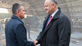 """Opinii: """"Deconspirarea"""" hambarul cu elicoptere - trădare de patrie cu implicarea lui Dodon, în interesul lui Krasnoselskii"""