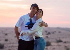 Ronaldo se menține în formă împreună cu iubita sa