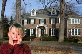 """FOTO // Cum arată acum casa din """"Singur acasă"""""""