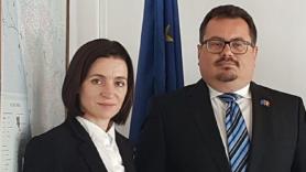 Maia Sandu a avut o discuție telefonică cu Peter Michalko, Ambasadorul UE în Republica Moldova
