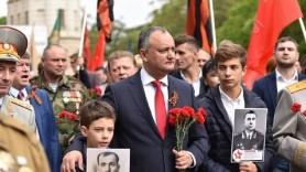Igor Dodon: Sărbătoarea de 9 mai va fi amânată pentru 24 august