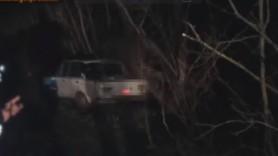 VIDEO // Un șofer beat și agresiv de la Criuleni a încercat să-și incendieze mașina după ce a fugit de poliție