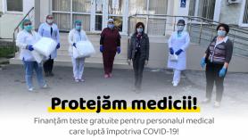 Partidul Acțiune și Solidaritate alocă 60.000 lei pentru testarea medicilor încadrați în lupta cu COVID-19