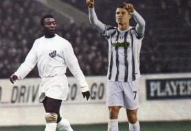 Cristiano Ronaldo l-a depăşit pe Pele şi este la un pas de a deveni cel mai bun marcator din istoria fotbalului