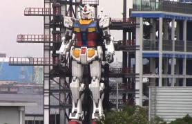 Un robot uriaș inspirat dintr-un faimos serial anime a fost testat în Japonia