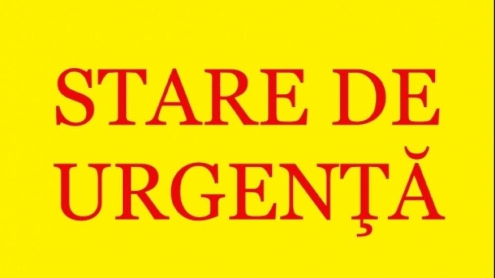 BREAKING NEWS // Parlamentul a instituit Stare de Urgență pentru 60 de zile