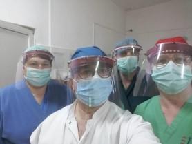 Studenții de la UTM și USMF au oferit medicilor 2 000 de viziere