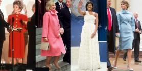 FOTO // Ceremonia de învestitură din SUA. Rochiile Primelor Doamne de-a lungul decenilor